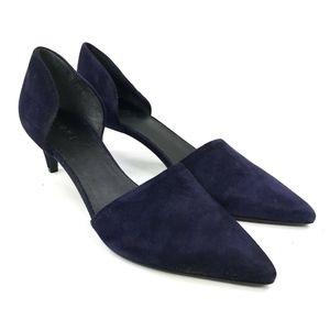 Vince Aurelian D'Orsary Pointed Toe Kitten Heel 7
